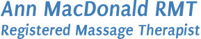 Ann MacDonald, Registered Massage Therapist